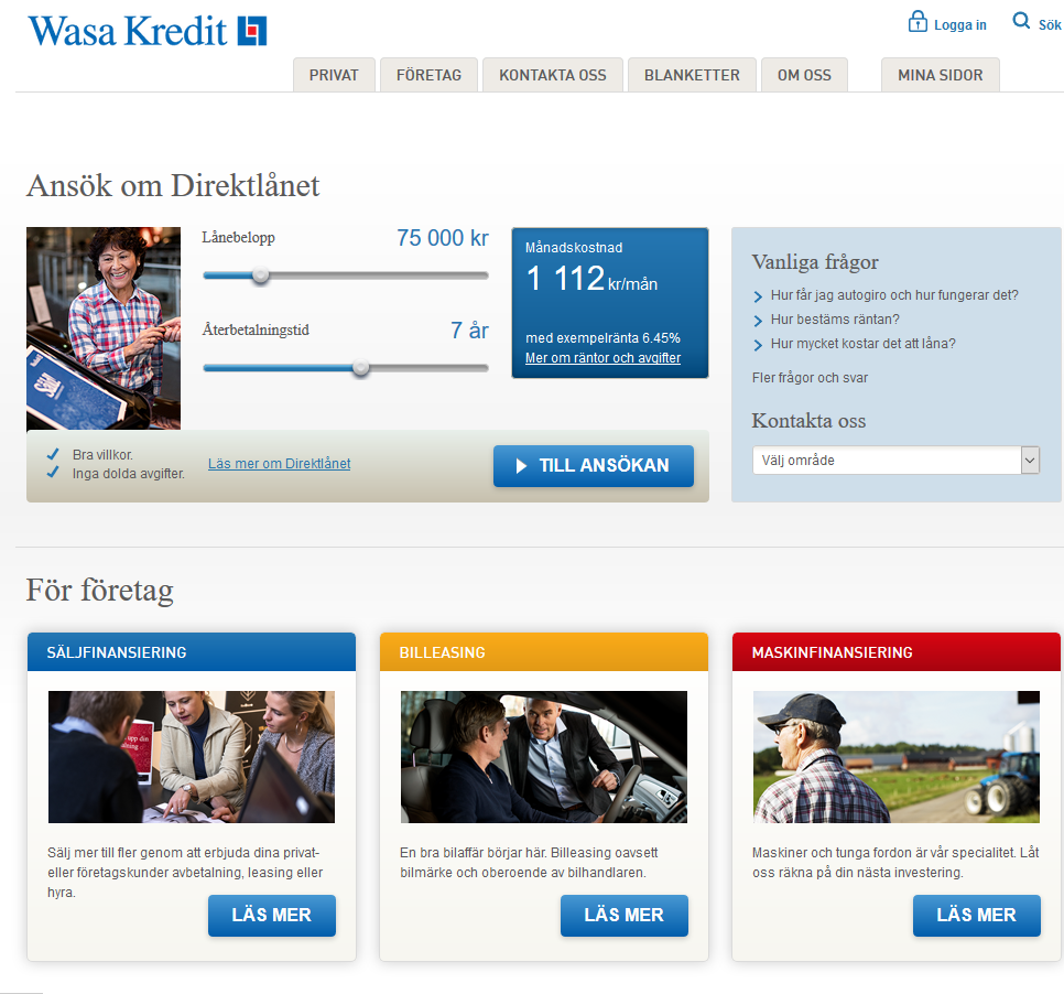 www.wasakredit.se