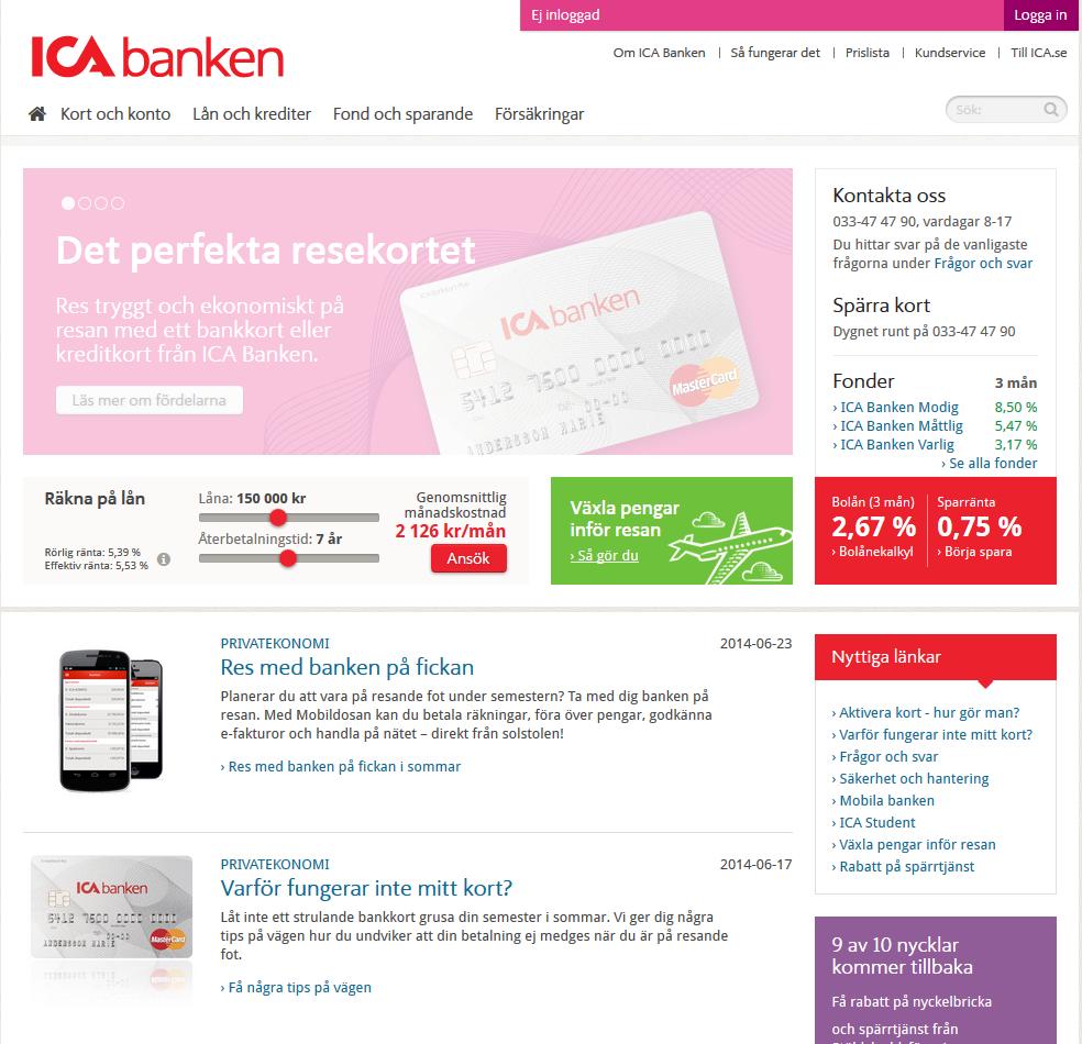 www.icabanken.se