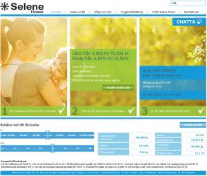 Selene Finans lån
